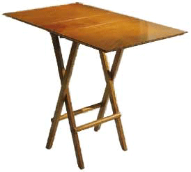 Cha Tu Cha folding table Rosewood inquire for price and availability